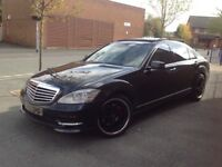(12 REG),MERCEDES S350 CDI, FULLY LOADED,FACTORY AMG BODYSTYLING,FULL MERCEDES BENZ HISTOR,HPI CLEAR