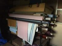 Cloth and button machine plus other items for headboard business