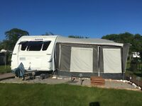 Adria adora 612 dt 2010 6 berth with Dorema Royal 350 Deluxe awning