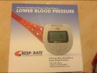 Resperate lower blood pressure monitor