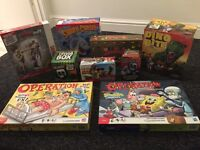 Multi board games and activity items