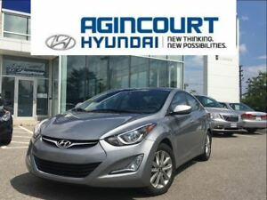 2015 Hyundai Elantra Sport/SUNROOF/BACKUP CAM/ALLOYS/OFF LEASE