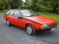 Renault Fuego 1.6 Turbo only 31000 miles Barn Find 1984