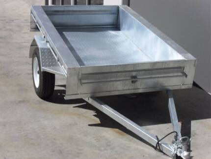 7x4 Trailer Galvanised Trailers from John Papas Trailers. Welshpool Canning Area Preview