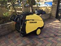 KARCHER HDS 745 HOT/COLD PRESSURE WASHER STEAM CLEANER SERVICED