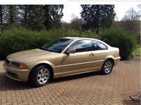 Very good BMW 318CI coupe (1 owner from new)