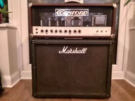 Cornford MK50H Guitar Amp Head 50W all tube boutique, cab included. Collectible-Cornford ceased 2013