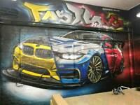 Mural artist /graffiti artist/airbrush artist