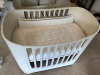 Leander Cot and Junior Bed White