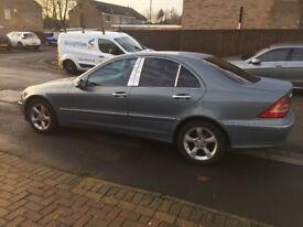 2005 MERCEDES BENZ C200 CDI AVANTGARDE SE TURBO DIESEL EXCELLENT CONDITION