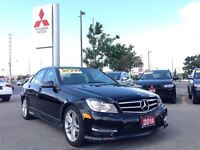 2014 Mercedes-Benz C-Class C300 4MATIC (LEATHER INTERIOR! SUNROO