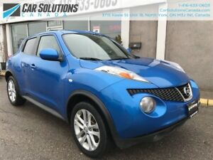 2011 Nissan Juke SL-NAVI-LEATHER-SNROOF