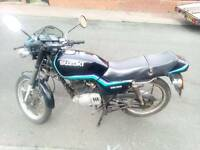 Suzuki gs 125 . 1994 model 12 month mot