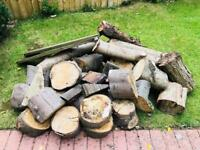 Logs and wood