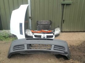 Renault Trafic 2002-2006 Front END bumper radiator slam panel headlight bonnet
