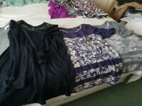 Ladies clothes, Tops clean from a smoke and pet free home, mainly size 14.