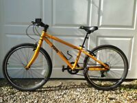 Frog 62 hybrid bike – Orange