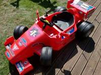 Kids electric race car - garage clearance