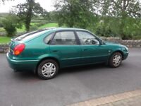 01 Toyota Corolla 1.4GS ***ONLY 57,000 Genuine Miles***