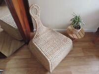 IKEA stylish 'gullholmen' rocking wicker chair