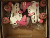 Rollerskates with light up wheels