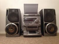 Fabulous Sony 5xCD Stereo with 2x DSW Speakers (and more)