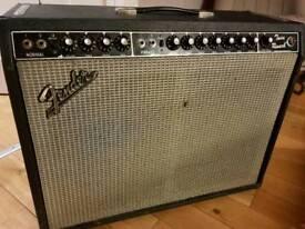 1981 Fender twin reverb 135W amplifier