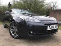 Hyundai Coupe 2007 Full Year Mot Full Red Leather Starts And Drives Great Cheap Car !!!