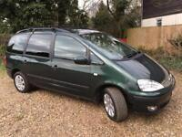 EXCELLENT CHEAP GALAXY - LOOKS & DRIVES SUPERB - MOT/SERVICE HISTORY - RECENT CLUTCH