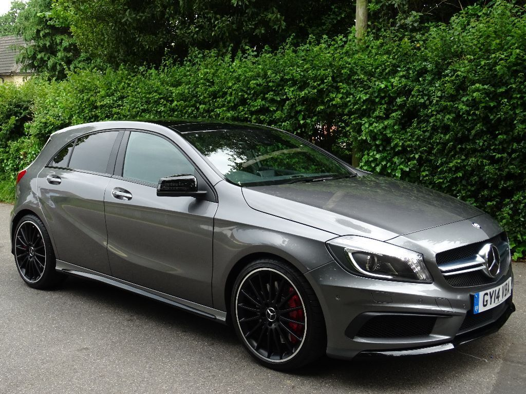 2014 14 mercedes benz a class 2 0 a45 amg 7g dct 4 matic 5dr huge specification in poole. Black Bedroom Furniture Sets. Home Design Ideas