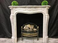 Antique French Loius Marble Fireplace Surround