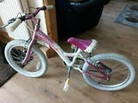 Girls pink bike good condition suit age from 5