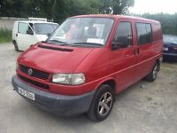 VOLKSWAGEN T4 CARAVELLE RUST FREE IRISH IMPORT NOW SOLD OTHERS ARRIVING SOON. CALL.