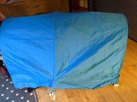 IKEA KURA Bed tent in turquoise
