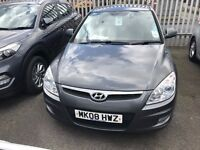 Fantastic Specification 2008 Hyundai i30 PREMIUM CDRI 1.6 Diesel 5 Dr Hatch FULL LEATHER 87000 Mls