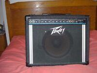 Peavy guitar amplifier 65watt studio pro 110 practice amp or small hall size