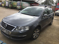 VW Passat SE, 2.0, automatic, 2007, 5 doors, grey, DSG, TDI