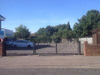 Secure parking 3 minutes walk from Hersham mainline station