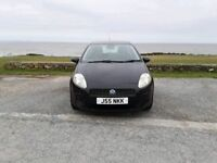 UNIQUE CAR COMPANY, 56 PLATE FIAT PUNTO 1.2 ACTIVE 3DR IN BLACK