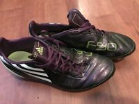 Men's size 9 Adidas f50 football boots £7.50