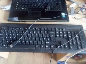 Asda QWERTY keyboard. USB connection.