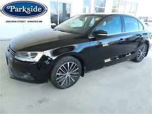 2013 Volkswagen Jetta Highline Automatic with Leather & Moon
