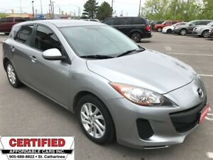 2012 Mazda MAZDA3 GX ** BLUETOOTH, CRUISE, AUX. IN **