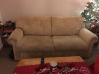 Free sofa for collection. Smoke free and pet free home.