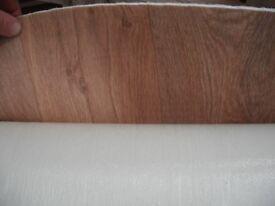 Vinyl flooring Lino Wood Laminate Effect Brand New, Quality 1m x 1.8m Thick