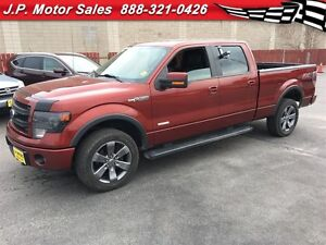 2014 Ford F-150 FX4, Crew Cab, Automatic, Navigation, Leather, 4
