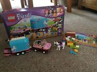 3186 Lego Friends Emma's Horse Trailer