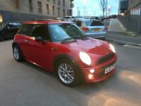MINI ONE 1.6 COOPER RED WITH PANORAMIC ROOF DOUBLE GLASS SPORTS ALLOYS JWC KIT BODY WORKS HPI CLEAR!