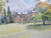 """Limited Edition print (18/100) of """"Bromham"""" (Bedfordshire)."""