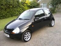 FORD KA 1-3 ZETEC CLIMATE 2008. 83,000 MILES WITH FULL SERVICE HISTORY. EXCELLENT ALLROUND CONDITION